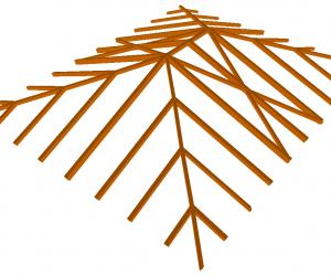 Modelado Estrumad 1 Programa de cálculo de estructuras de madera