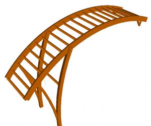 Modelado Estrumad 2 Programa de cálculo de estructuras de madera