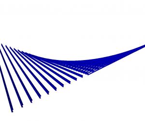 Paraboloide hiperbólico Programa de cálculo de estructuras de acero